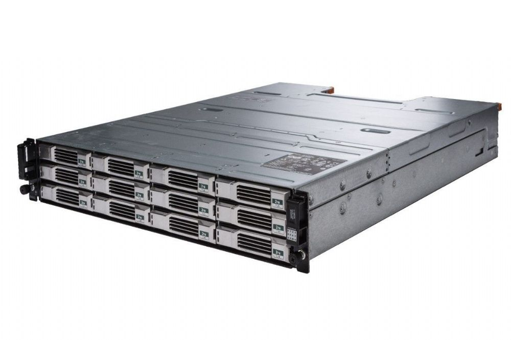 "Dell EqualLogic PS4100X 2U 12 x 3TB SAS 3.5"" iSCSI SAN Storage Array 36TB"